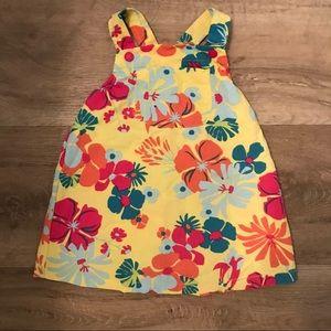Patagonia dress floral jumper tropical 18 months
